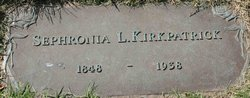 Sophronia Lee <I>Younger</I> Kirkpatrick