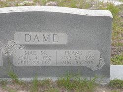Annie Mae <I>Morgan</I> Dame