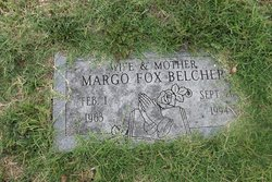 Margo <I>Fox</I> Belcher