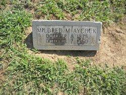 Mildred <I>Martin</I> Aycock
