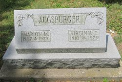 Marion Maurice Augspurger