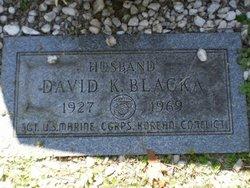 David K Blacka