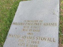 Hattie <I>Adams</I> Stovall