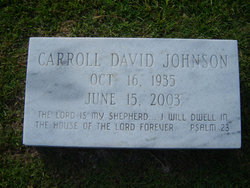Carroll David Johnson