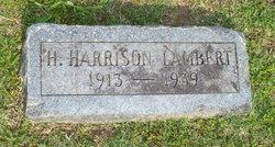Henry Harrison Lambert