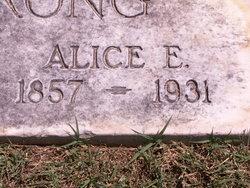 Alice E Armstrong