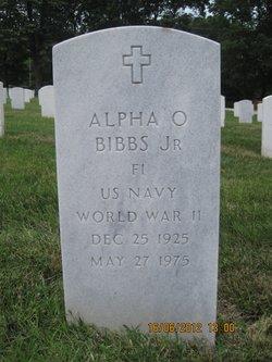 Alpha O Bibbs, Jr
