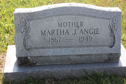 "Martha Jane ""Mattie"" <I>Colson</I> Angle"