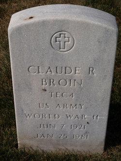 Claude R Broin