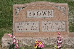 Lillie F. <I>Stevens</I> Brown