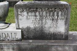 Mittie <I>Furr</I> Barksdale