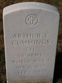 Arthur C Cummings
