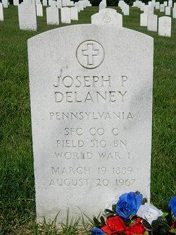 Joseph P Delaney