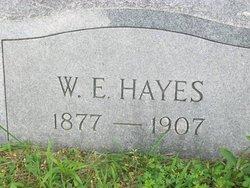 W E Hayes