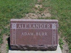 Adam Burr Alexander