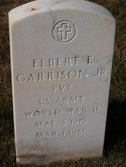 Elbert E Garrison, Jr