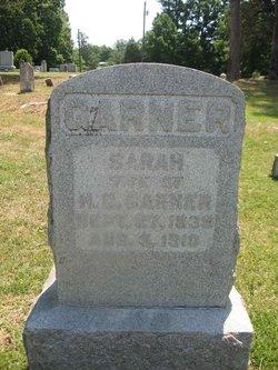 Sarah <I>Maness</I> Garner