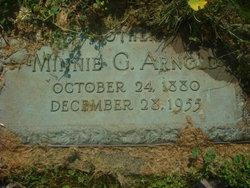 Minnie G. <I>Chamberlain</I> Arnold
