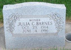 Julia Ulena <I>Christensen</I> Barnes