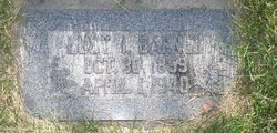 Lucy Isabelle <I>Smith</I> Barnes