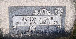 Marion Norman Bair