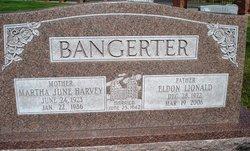 Martha June <I>Harvey</I> Bangerter