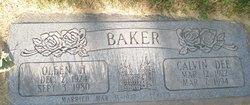 Calvin Dee Baker