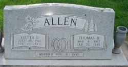 Thomas Harold Allen