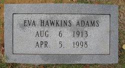 Eva <I>Hawkins</I> Adams