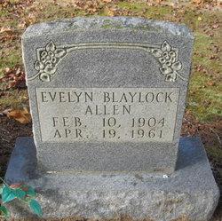 Lena Evelyn <I>Corder</I> Blaylock Allen