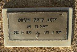 Orrin David Akey