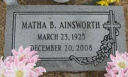 "Matha ""Shorty"" <I>Burrell</I> Ainsworth"