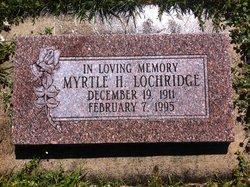 Myrtle <I>Hansen</I> Lochridge
