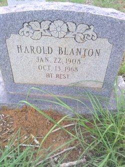 Harold Blanton