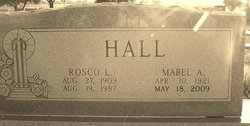 Mabel Agnes <I>Leatherwood</I> Hall