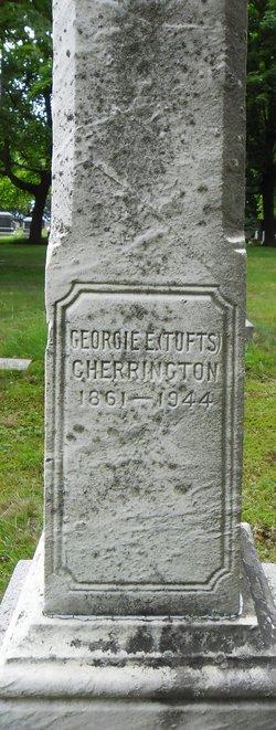 Georgia E. <I>Tufts</I> Cherrington