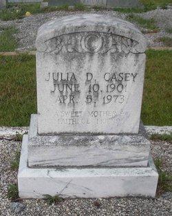Julia D Casey
