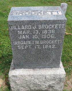 Margaret <I>Mapes</I> Brockett