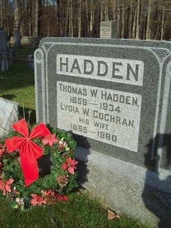 Thomas Washington Hadden