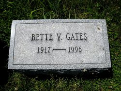"Elizabeth Virginia ""Bette"" <I>Smiley</I> Gates"