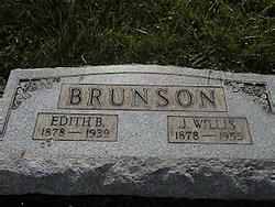 Edith <I>Baker</I> Brunson