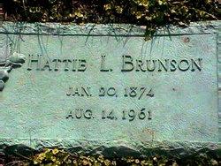 Hattie Luzetta <I>Brunson</I> Brunson