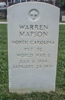 Warren Mapson