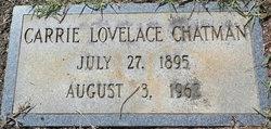 Carrie <I>Lovelace</I> Chatmon