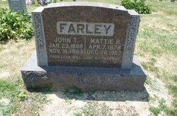 Mattie Belle <I>Garriott</I> Farley