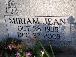 "Miriam ""Jean"" <I>Jones</I> Bender"
