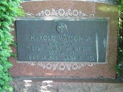 PFC Harold L Watson, Jr