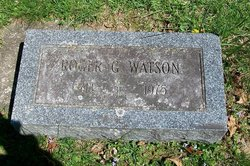 Roger G Watson