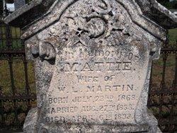 Mattie <I>Twyman</I> Martin