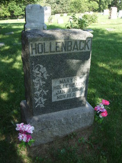 Mary Rebecca <I>Gilcrest</I> Hollenback